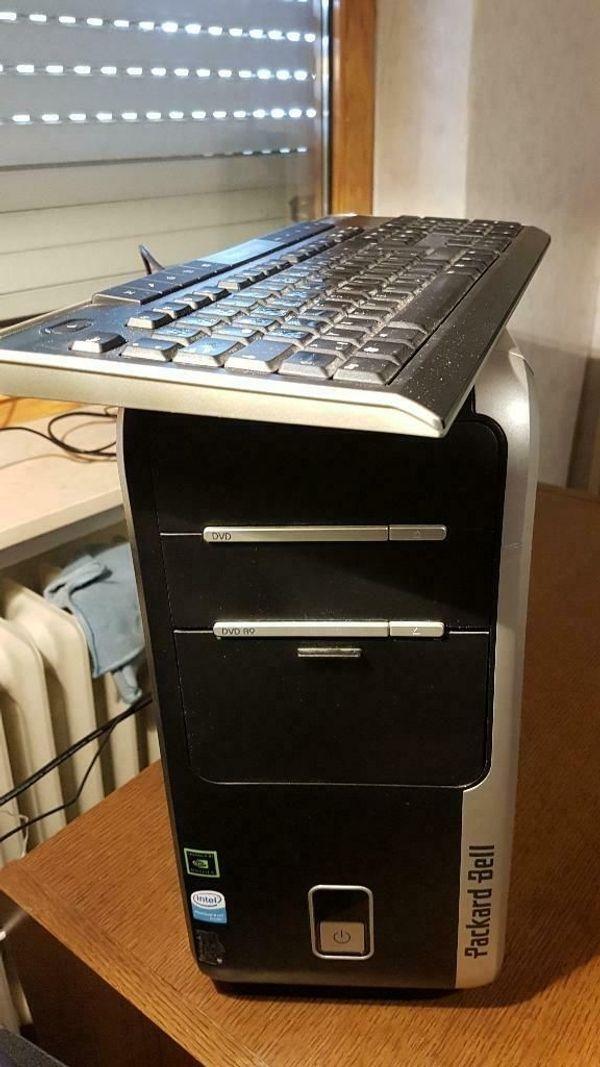 Desktop-PC mit Linux internetfähig