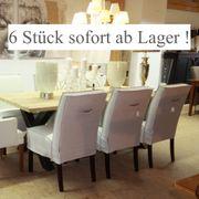 6 Stück stylische Polsterstühle Esstischstühle