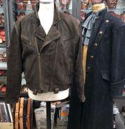 Vintage Nubuk LEDERJACKE Gr 56