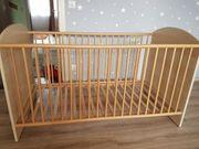 Babybett umbaubar zum Kinderbett