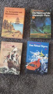 4 Science-Fiction-Bücher