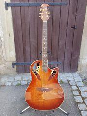 Ovation Celibrity de Luxe Gitarre