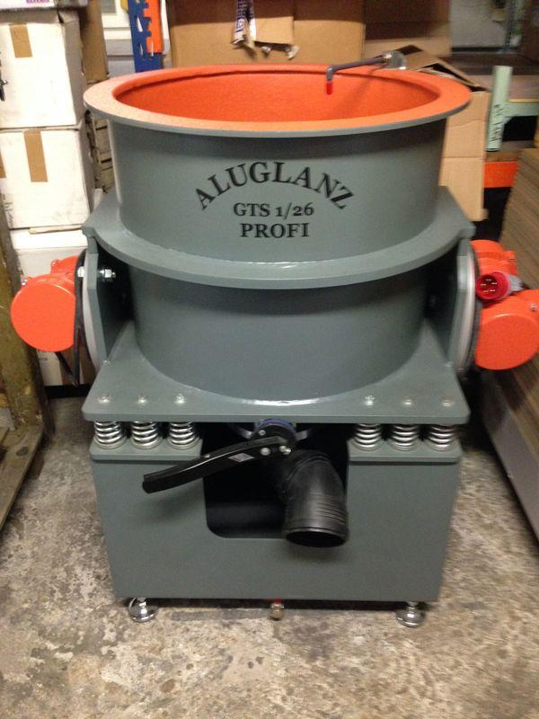 Gleitschleifanlagen Pulveröfen Felgenpoliermaschinen Entlackungsanlagen ab