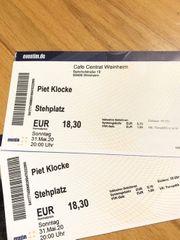 2 Tickets für Piet Klocke