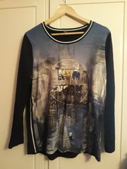 Gerry Weber Shirt schwarz blau