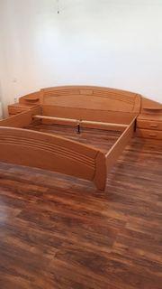 Bett 200 x 200 cm