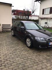Audi A3 5 türig schwarz