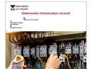 Elektroniker Infrastruktur m w d