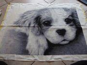 Stickvorlage hund Little Puppy Heaven