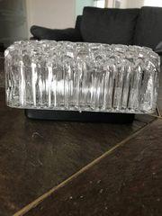 Decken- Wandlampe Kristallglas