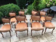 6 Barockstühle 2 Barock Sessel