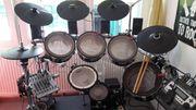 Mesh-Head E-Dumkit Drumset Schlagzeug Roland