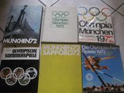 6 Bücher Olympische Spiele 1972