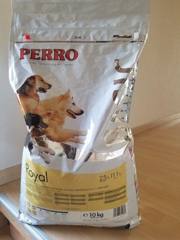 Perro Royal 10kg Hundefutter org