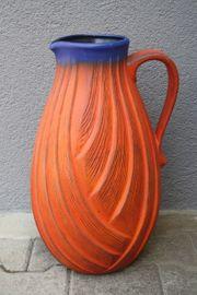 Riesige Dümler Breiden Bodenvase Keramik
