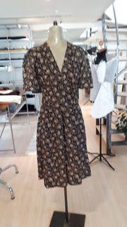 VINTAGE Sommerkleid Empirestil XS S