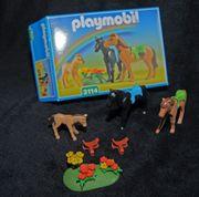 2 Pferde mit Fohlen Playmobil