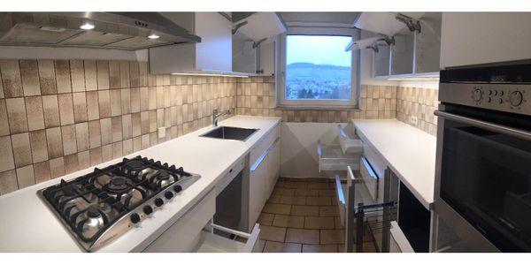 Ikea Küche METOD VEDDINGE, 2x4m Incl. Gasherd &-installation ...