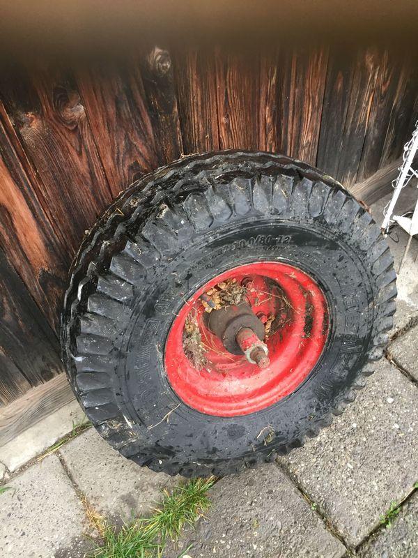 Ladewagen-Reifen