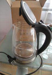 ZOKOP Glas Edelstahl Wasserkocher BPA-freier
