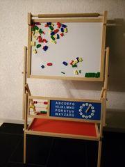Standtafel Spieltafel mit Buchstaben Magneten