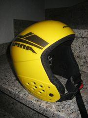 Kinder-Skihelm Alpina Racer Gr 50 -