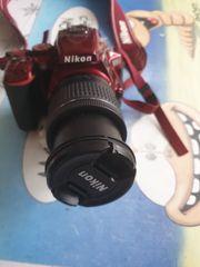 spiegelreflexkamera nikon d5500 rot