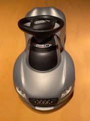 Bobby Car Audi silbergrau