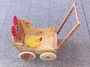 Puppenwagen aus Holz Top Spielzeug