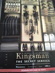Comic Verfilmung 2014 Kingsman seltene