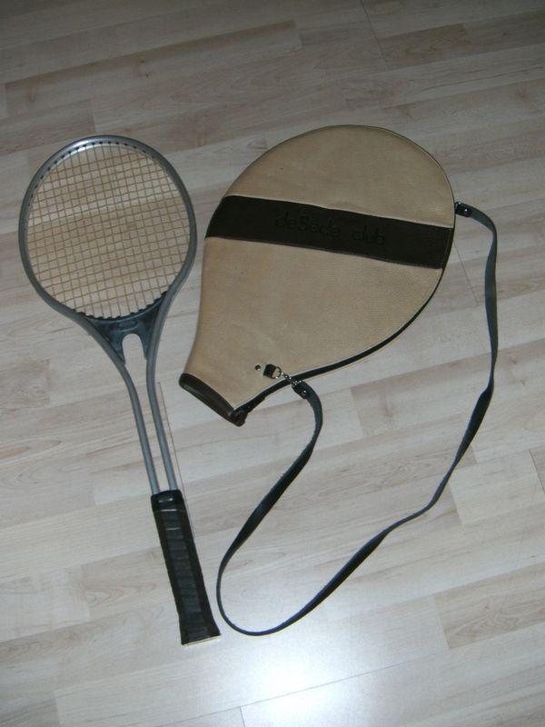 Lederhülle Tennisschläger