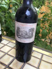 Chateau lafite Rothschild 1928 Wein