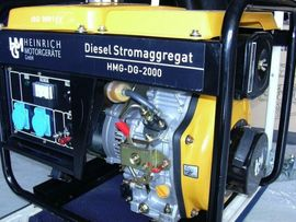 Geräte, Maschinen - Dieselgenerator HMG-DG2000
