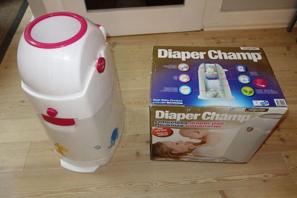 Diaper Champ - Geruchsdichter Windeleimer - Standard