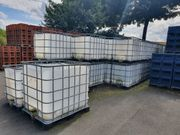 Bieten gebrauchte aufgeschnittene IBC Behälter