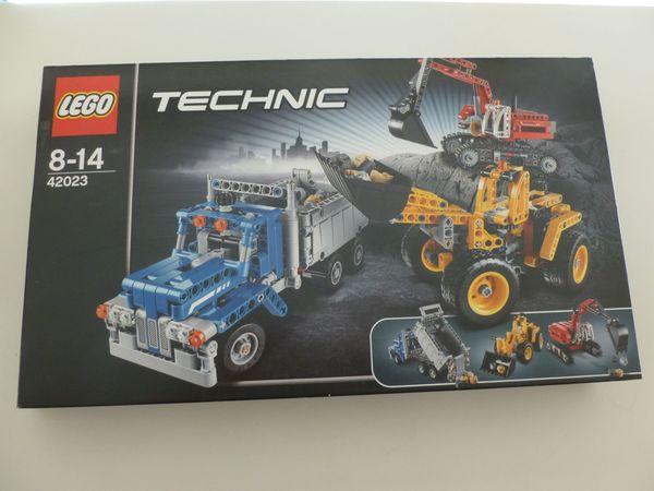 Lego Technik Baustellenfahrzeuge 42023