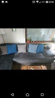 Sofa grau zu verschenken