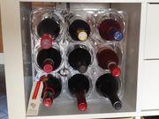 Weinflaschengestell