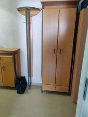 Massivholz große Garderobe - 5 Teile