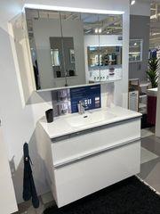 Badmöbel-Set 100 cm PREMIUM Weiß