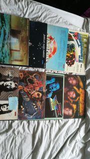 Plattensammlung Rock Platten von 1971bis