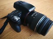 Kamera Sony Alpha 55 wie