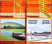 Eisenbahn Magazin Modellbahn Januar-Dezember 1980