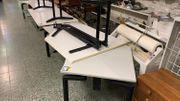 Schreibtisch 2 Teile - L241114