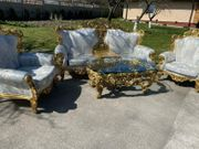 Silik Italien Barock-Sofagarnitur 2-Sitzer 2
