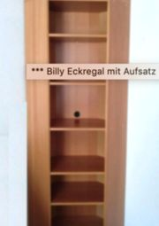 IKEA Billy Eckregal Buche