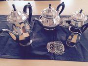 Silber 800 Antik Kaffee Teekanne