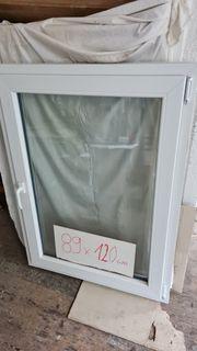 Unbenutztes Fenster- Deutsches Fenster 89x120cm