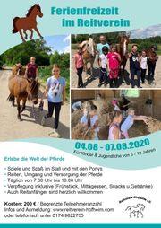 Ferienfreizeit mit Pferden 04 08-07