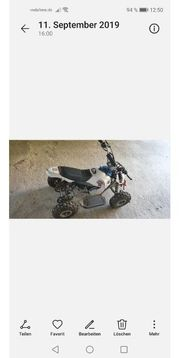 pocketbike quad defekt